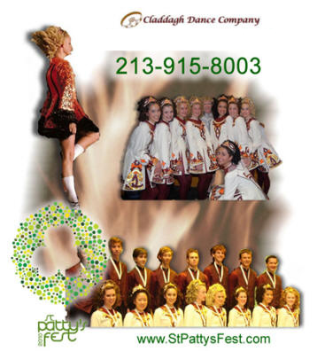 World Champion Irish dancers